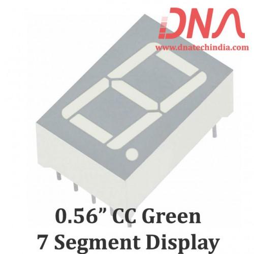 "0.56"" Green CC 7 Segment Display"