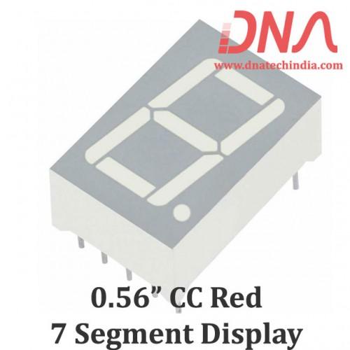 "0.56"" RED CC 7 Segment Display"