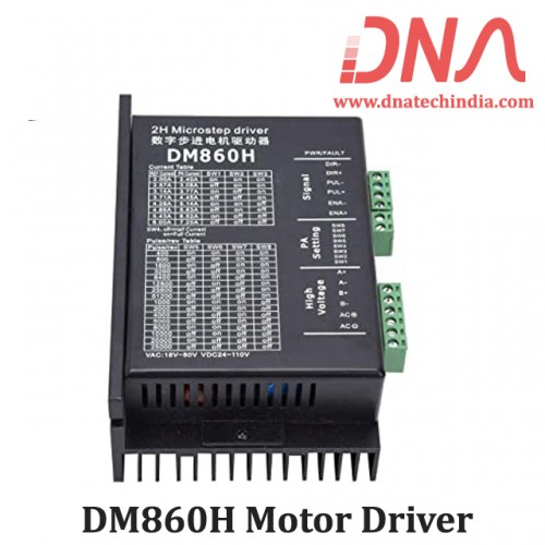 DM860H Digital Microstepping Stepper Motor Driver
