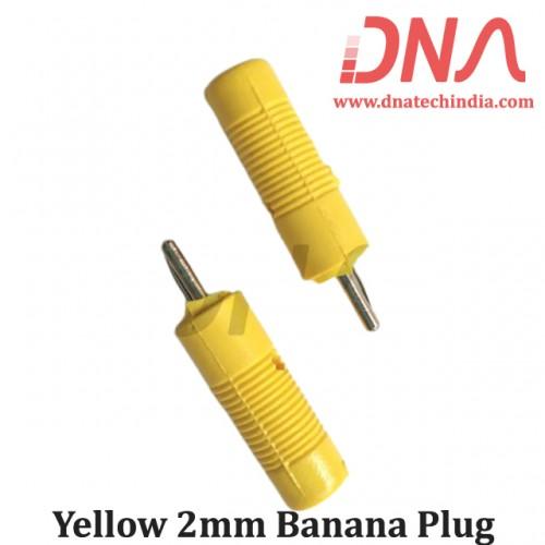 Yellow 2mm Banana Plug