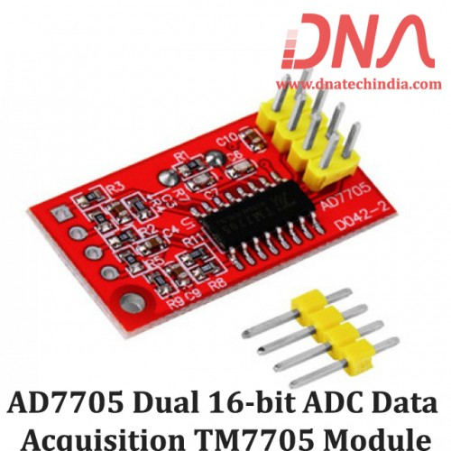 AD7705 Dual 16-bit ADC Data Acquisition TM7705 Module
