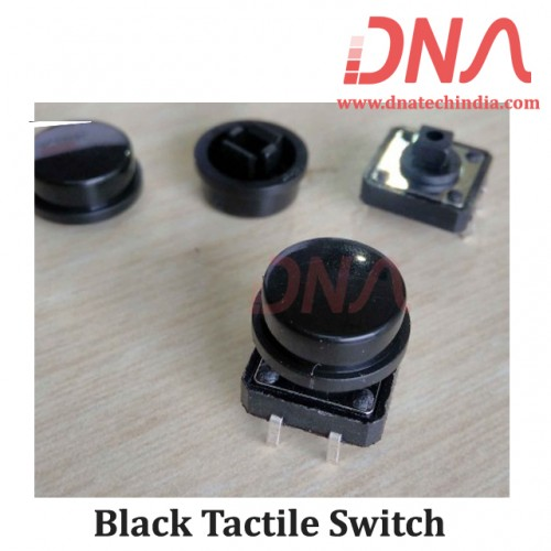 Black Tactile Switch