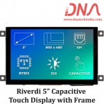 """Riverdi 5"""" Capacitive Touch Display with Frame"""