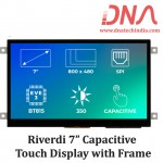 """Riverdi 7"""" Capacitive Touch Display with Frame"""