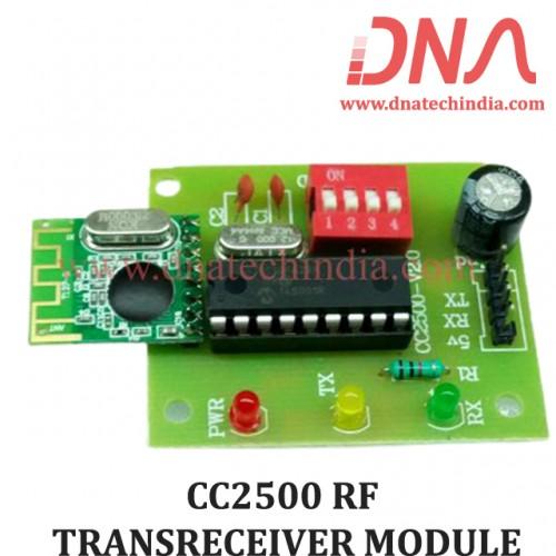 CC2500 RF TRANSRECEIVER MODULE