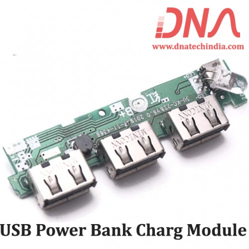 3 USB  5V 1A Power Bank Charging Module