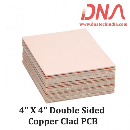 """4""""x 4"""" Double Sided Copper Clad PCB"""