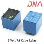 5 Volt 7A cube relay