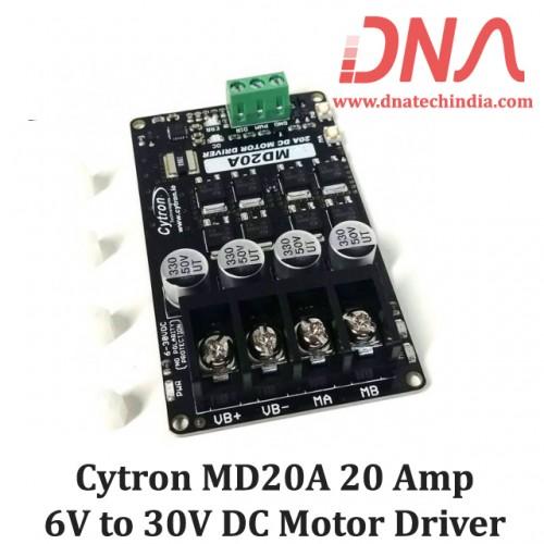 Cytron MD20A 20 Amp 6V to 30V DC Motor Driver
