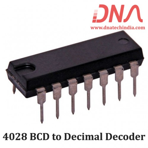 4028 BCD to Decimal Decoder