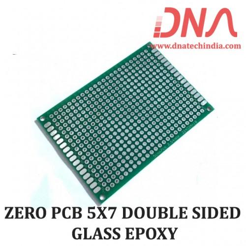 ZERO PCB 5X7 cm DOUBLE SIDED GLASS EPOXY