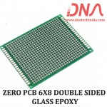 ZERO PCB 6X8 DOUBLE SIDED GLASS EPOXY