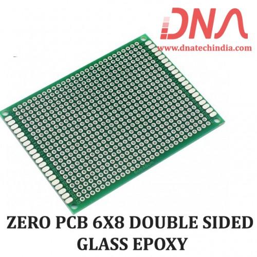 ZERO PCB 6X8 DOUBLE SIDED GLASS EPOXY