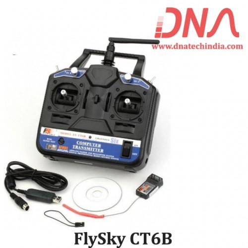 FlySky CT6B 2.4GHz 6CH Transmitter with FS-R6B Receiver