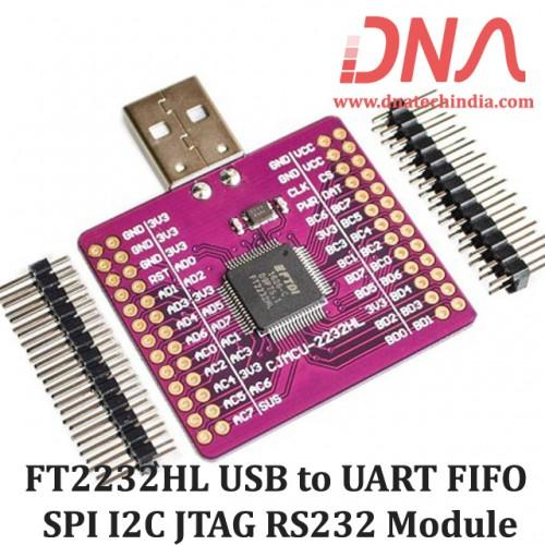 FT2232HL USB to UART FIFO SPI I2C JTAG RS232 Module