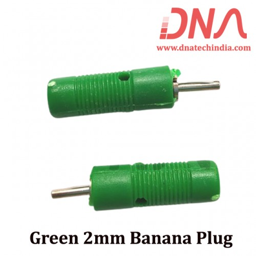 Green 2mm Banana Plug
