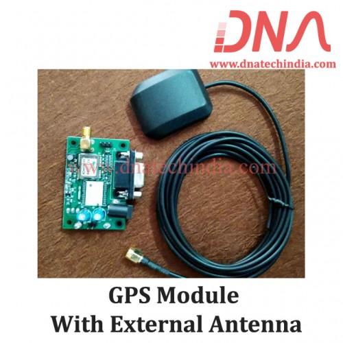 GPS Module With External Antenna
