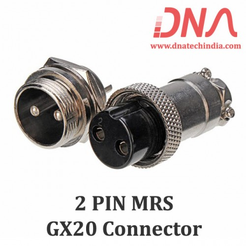2 PIN MRS GX20 Connector