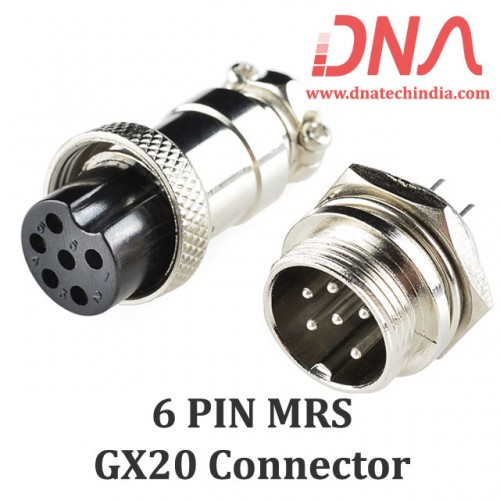 6 PIN MRS GX20 Connector