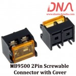 HB9500 2Pin Screwable Connector with Cover
