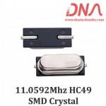 HC49 Surface Mount 11.0592 Mhz Crystal Oscillator