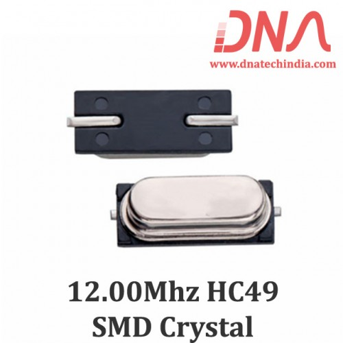 HC49 Surface Mount 12.00 Mhz Crystal Oscillator