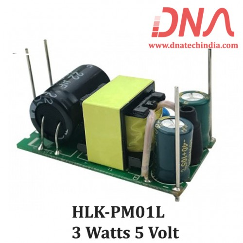 HLK-PM01L AC to DC 3 Watt 5 Volt Power Module