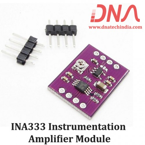 INA333 Instrumentation Amplifier Module