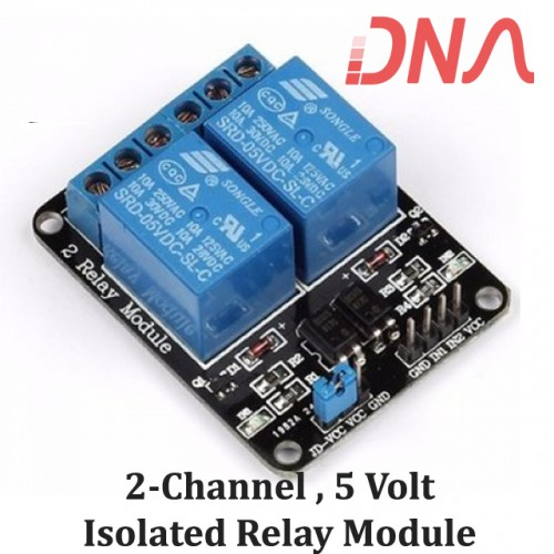 2 Channel 5 Volt Isolated Relay Module