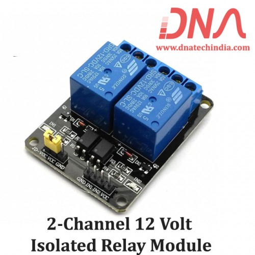 2 Channel 12 Volt Isolated Relay Module