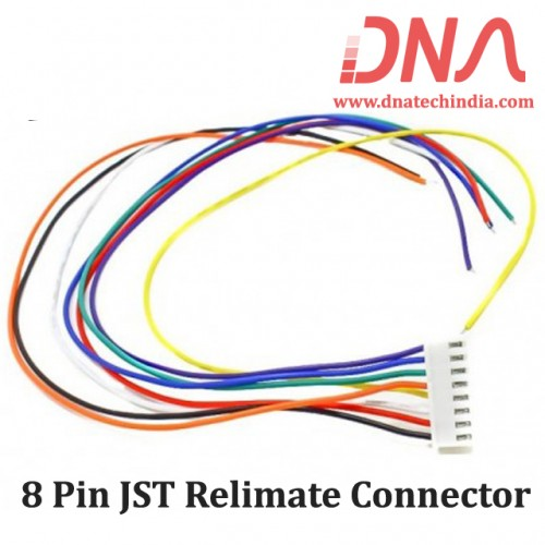 8 Pin  JST Relimate Connector