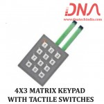 4X3 MATRIX KEYPAD WITH TACTILE SWITCHES