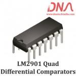 LM2901N Quad Differential Comparator