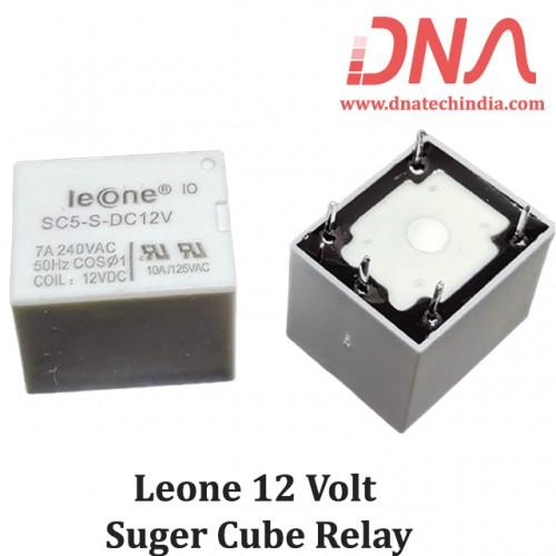 Leone SC5-S-DC12V 12 Volt Relay