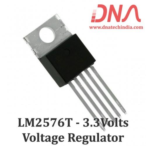 LM2576T 3.3 Volts Step Down Voltage Regulator