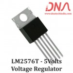 LM2576T 5 Volts Step Down Voltage Regulator