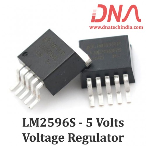 LM2596S 5 Volts fixed Voltage Converter (TO-263)