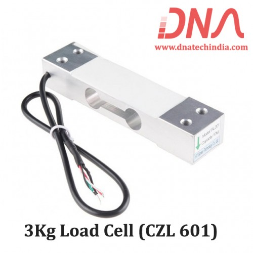 3 Kg Load cell CZL 601 - Electronic Weighing Scale Sensor