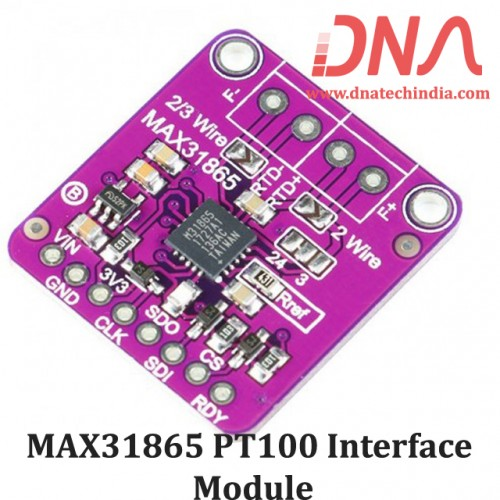 MAX31865 PT100 Interface Module