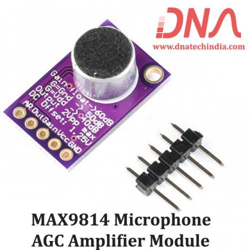 MAX9814 Microphone AGC Amplifier Module