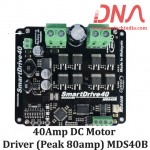 Enhanced Cytron 40Amp DC Motor Driver (Peak 80amp) MDS40B