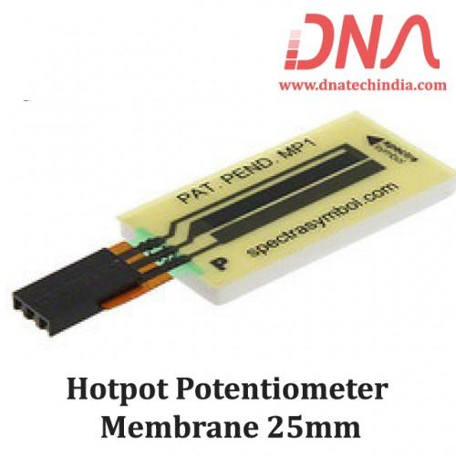 Hotpot Potentiometer Membrane 25mm