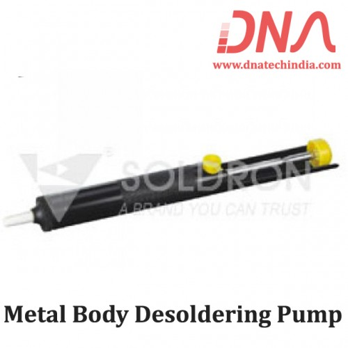 Soldron Metal Body Desoldering Pump Soldron