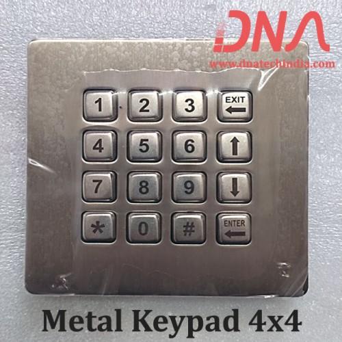 Metal Keypad 4x4 (Matrix Keypad)