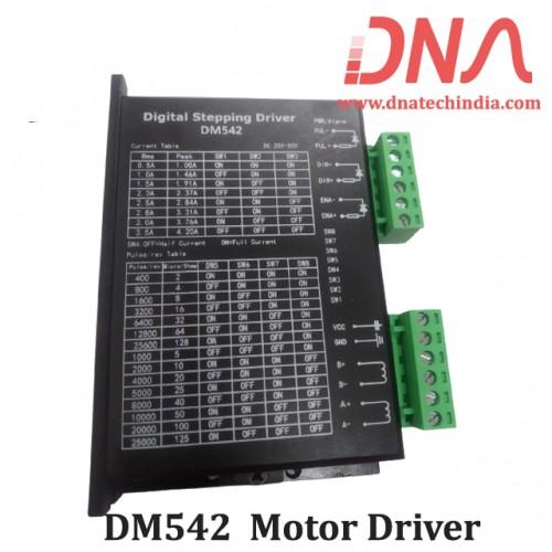 DM542 Digital MicroStepping Stepper Motor Driver