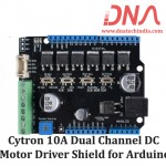 Cytron 10A Dual Channel DC Motor Driver Shield for Arduino