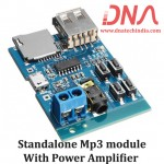 Standalone Mp3 module with power amplifier