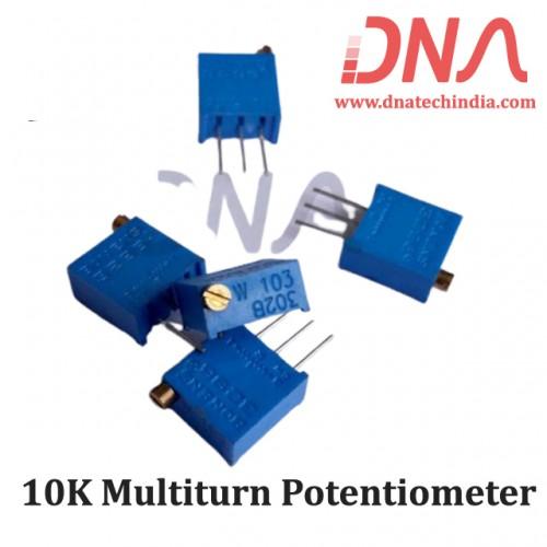 10K Multiturn Potentiometer