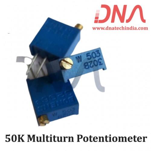 50K Multiturn Potentiometer
