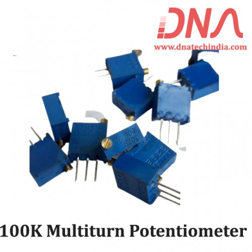 100K Multiturn Potentiometer